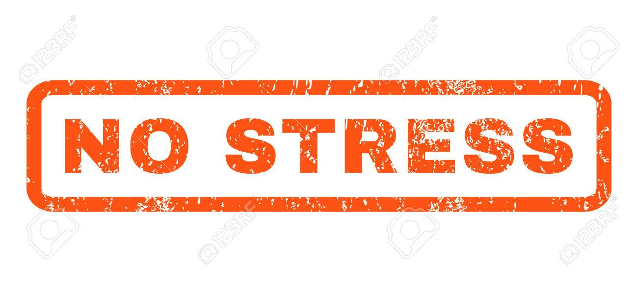 No Stress Text Rubber Seal Stamp Watermark Caption Inside Rectangular Stock Photo Picture And Royalty Free Image Image 65893314