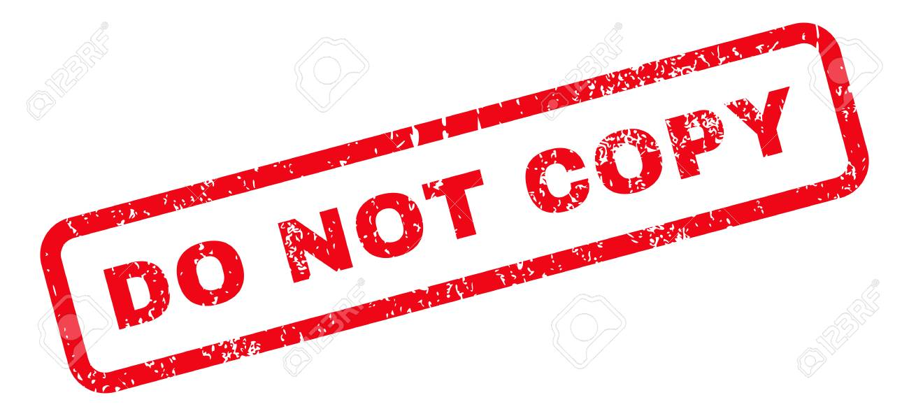 do not copy text rubber seal stamp watermark caption inside stock