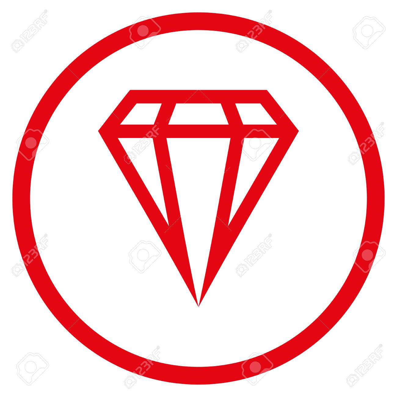 Gem rounded icon raster illustration style is flat iconic symbol raster illustration style is flat iconic symbol inside circle red color buycottarizona Image collections