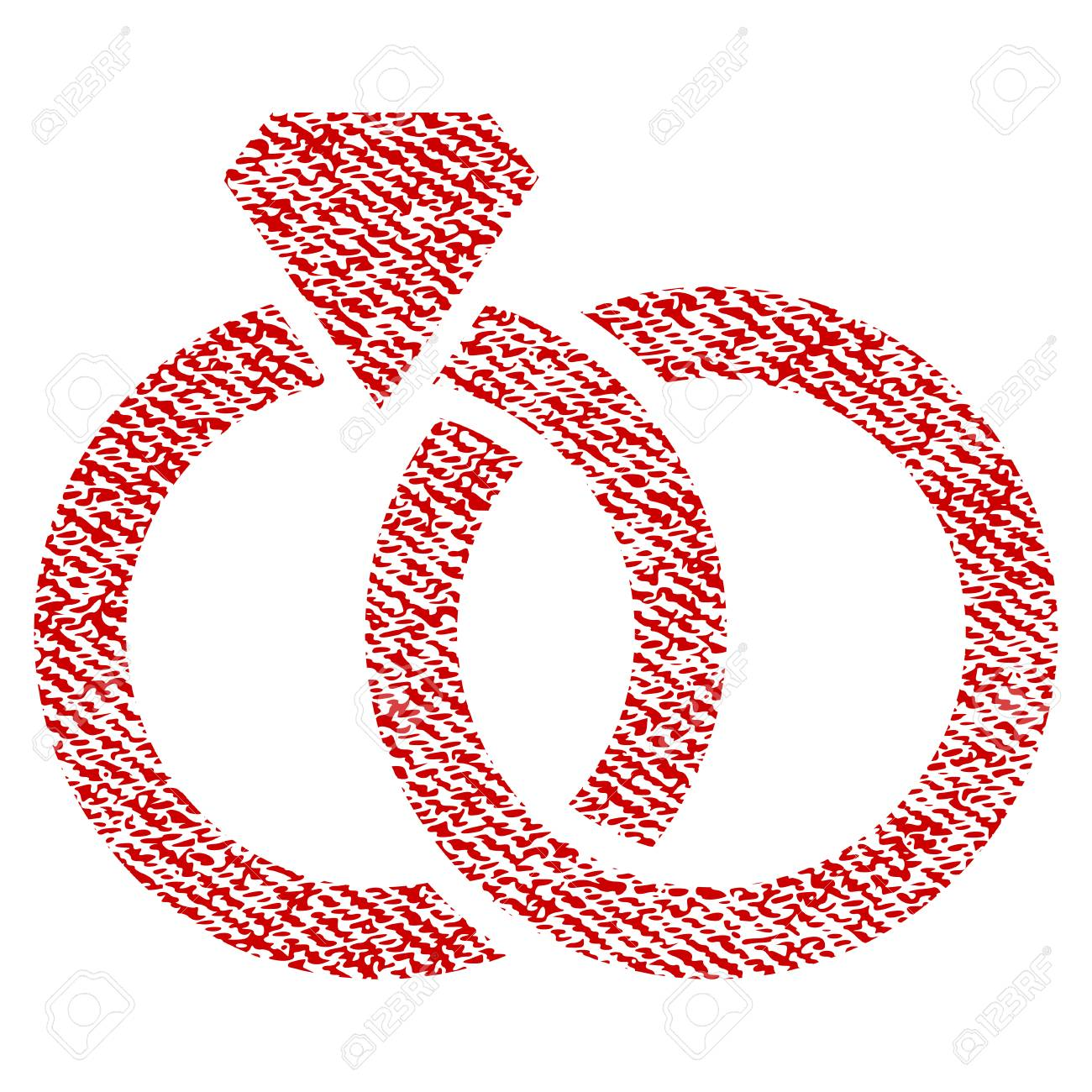 Nice Wedding Rings Vector Textured Icon For Overlay Watermark ...