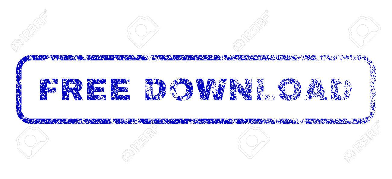 Free Download text grunge seal stamp for watermarks  Blue Vector