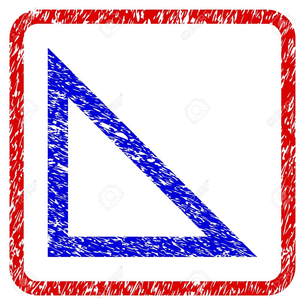 Pfeilspitze Verließ Grunge Strukturierte Ikone. Gerundeter Roter ...