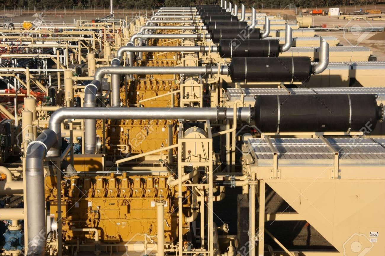 Natural gas compression Stock Photo - 4939097
