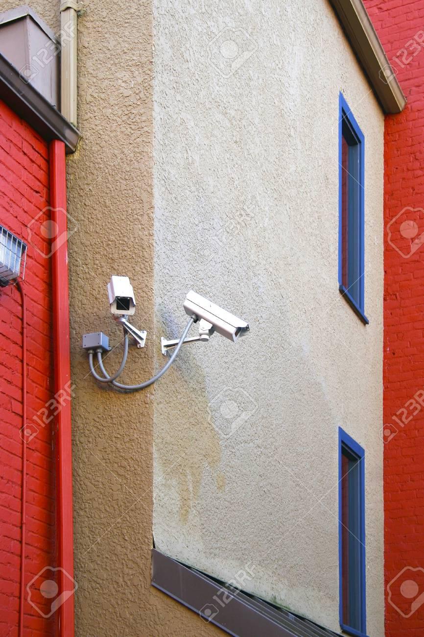 Security cameras Stock Photo - 6379509