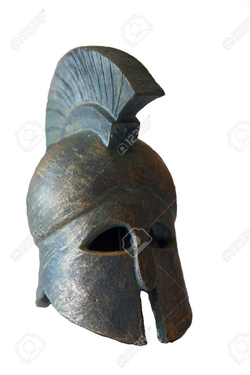 Spartan helmet Stock Photo - 6751293