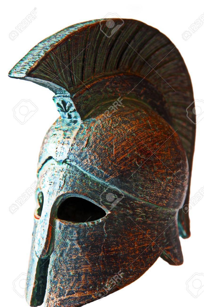 Spartan helmet Stock Photo - 6751295