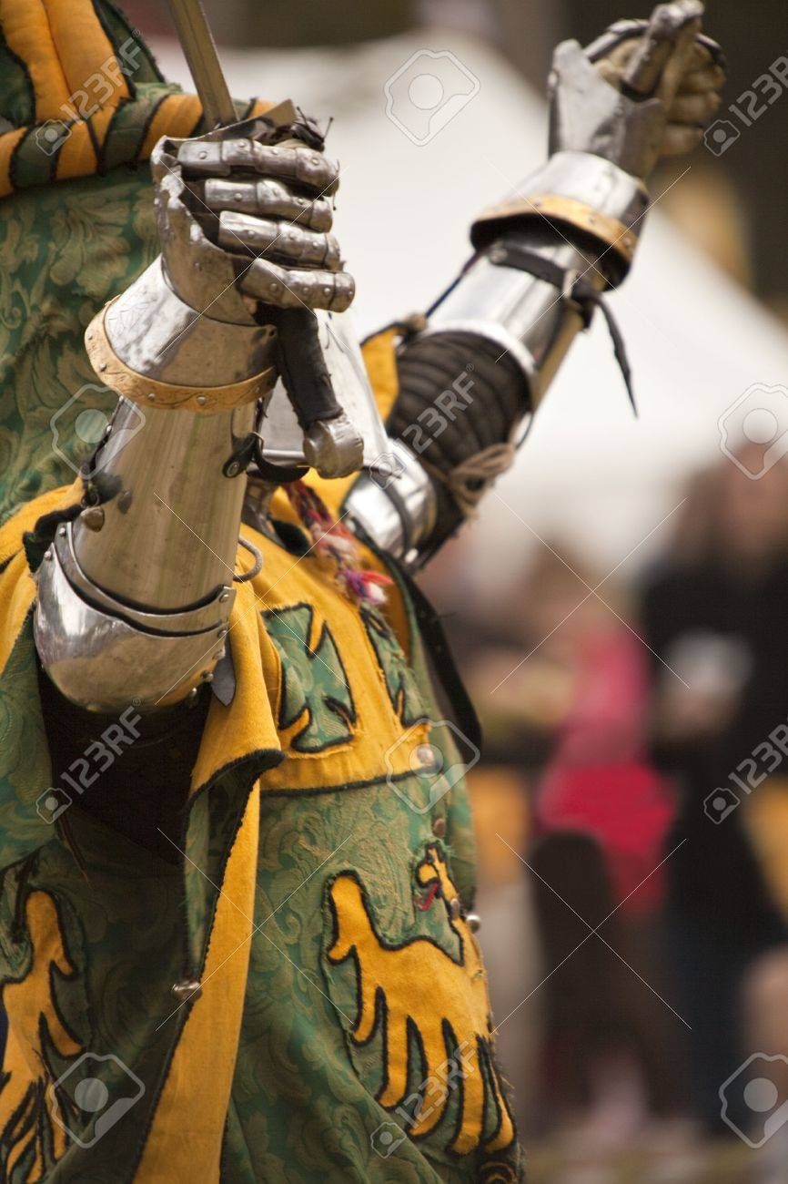 Knight with a sword Stock Photo - 7424502