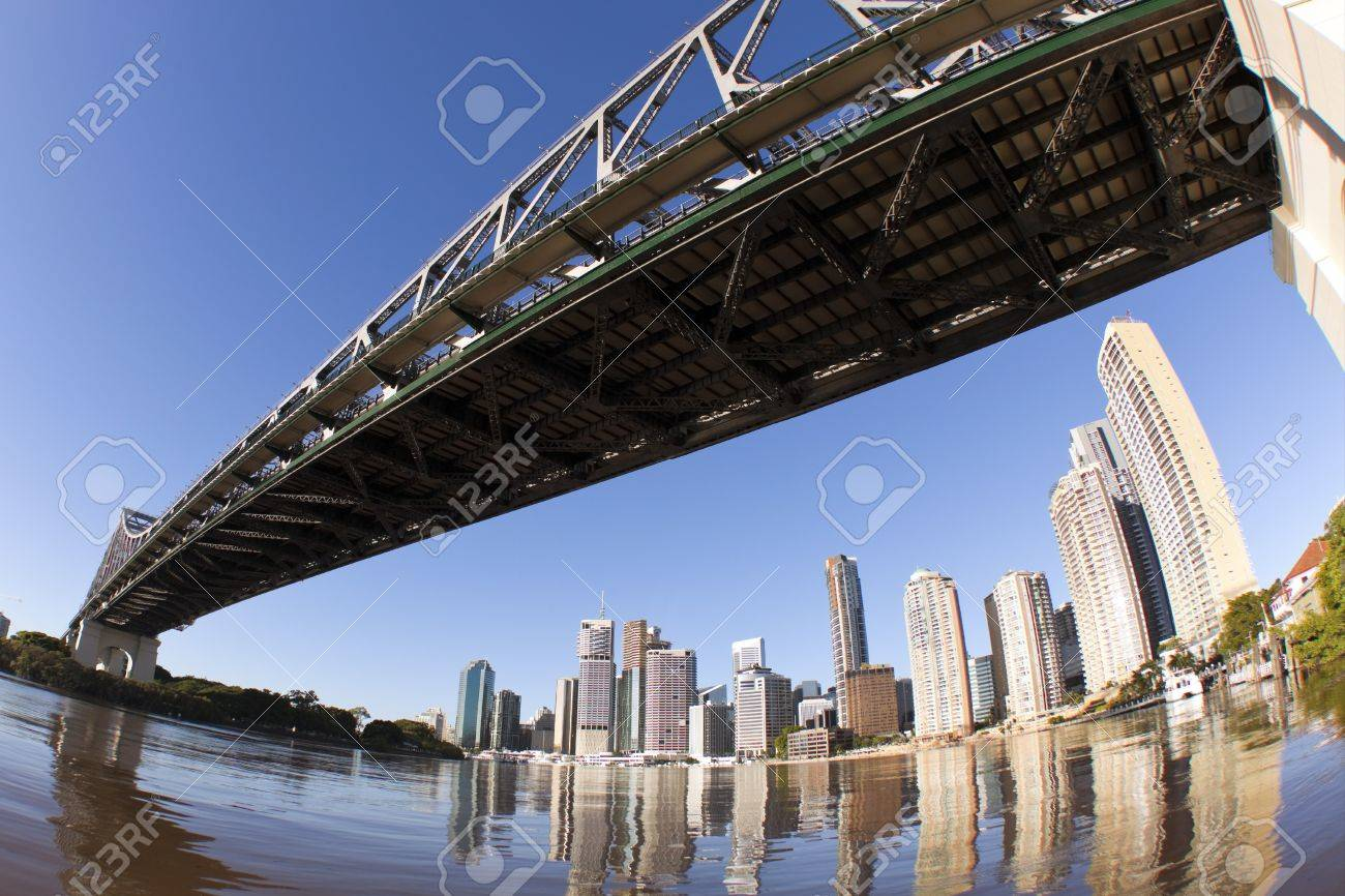 Brisbane skyline  with a different view Stock Photo - 8877966