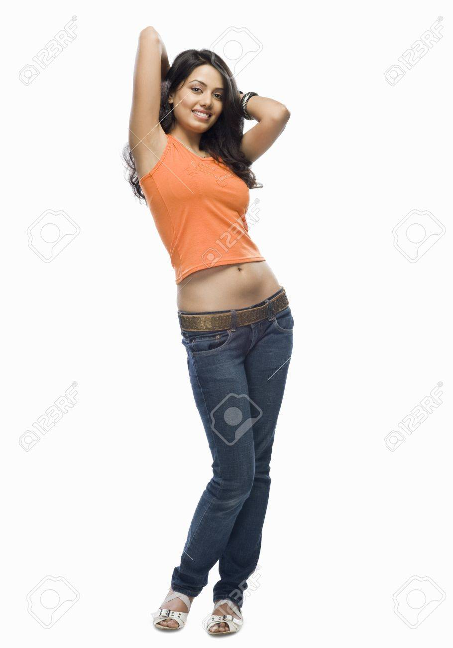 Portrait of a young woman posing Stock Photo - 10123495