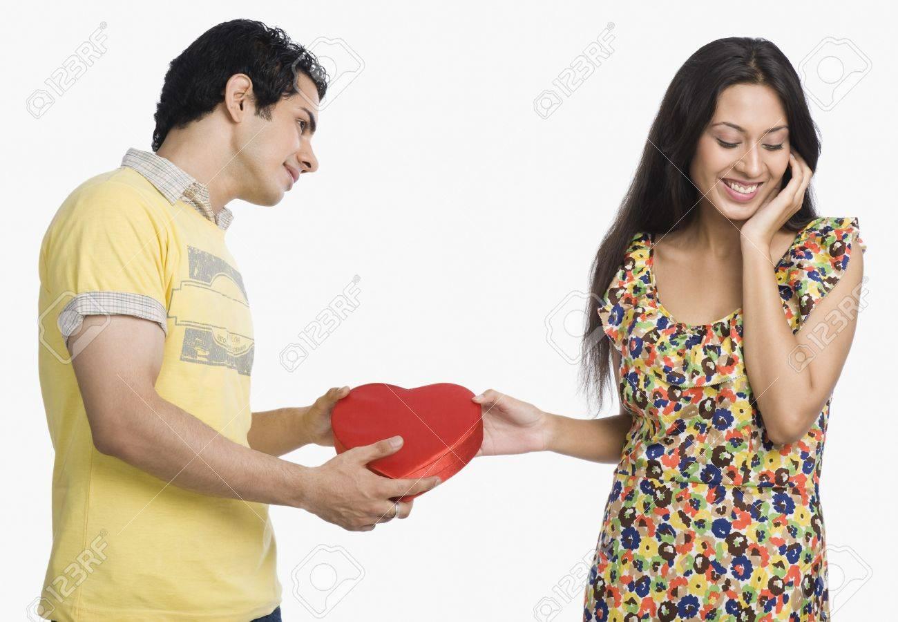 Man proposing to a woman Stock Photo - 10124974
