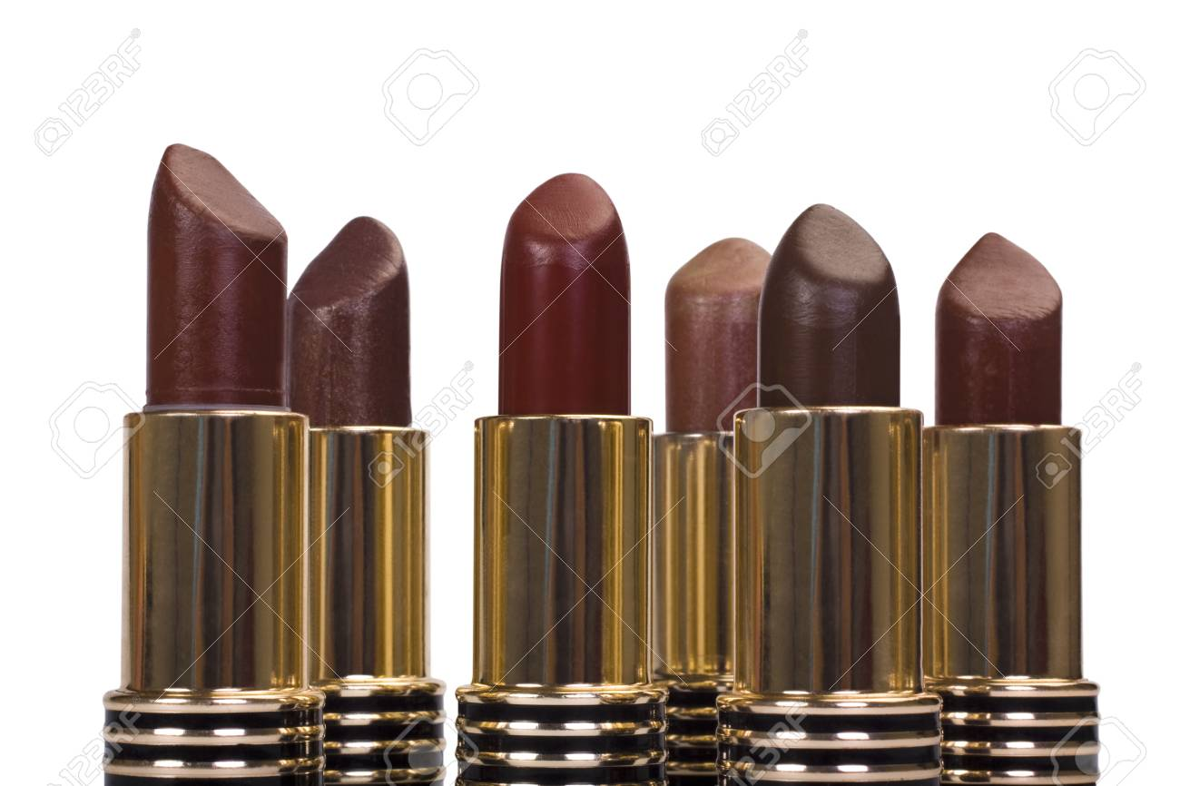 Close-up of assorted lipsticks Stock Photo - 10237171