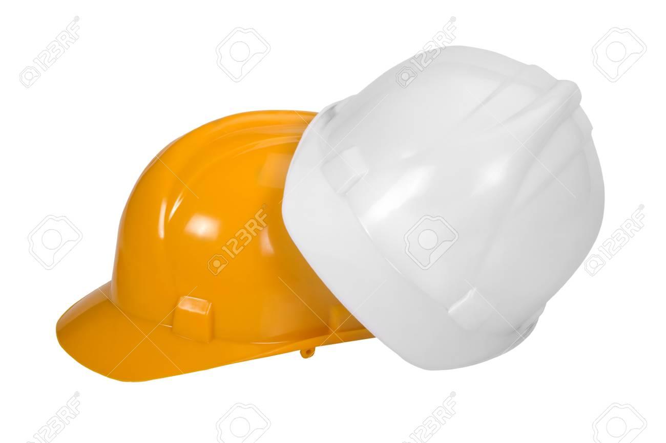 Close-up of hardhats Stock Photo - 10234672