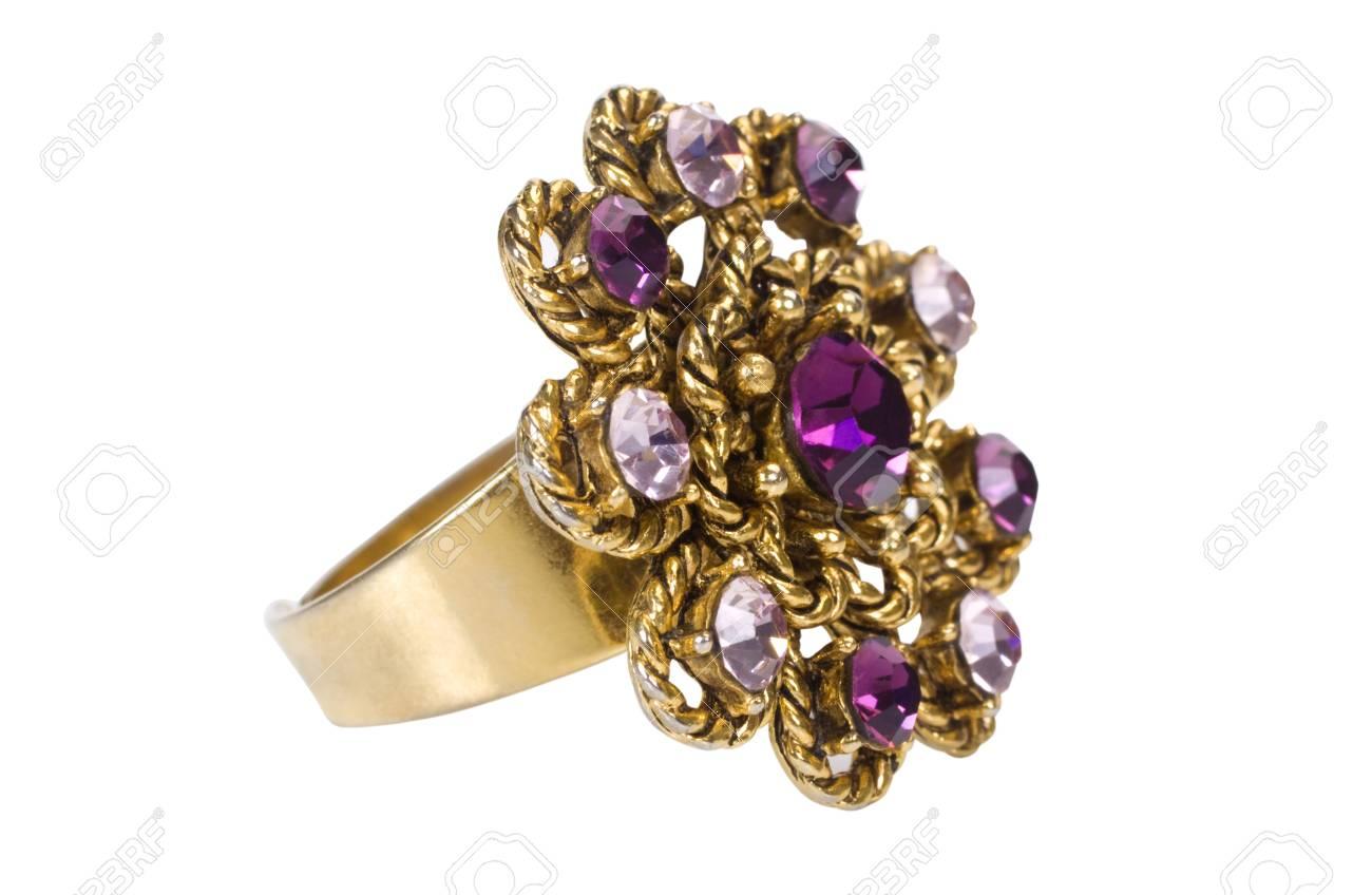 Close-up of a diamond ring Stock Photo - 10242185