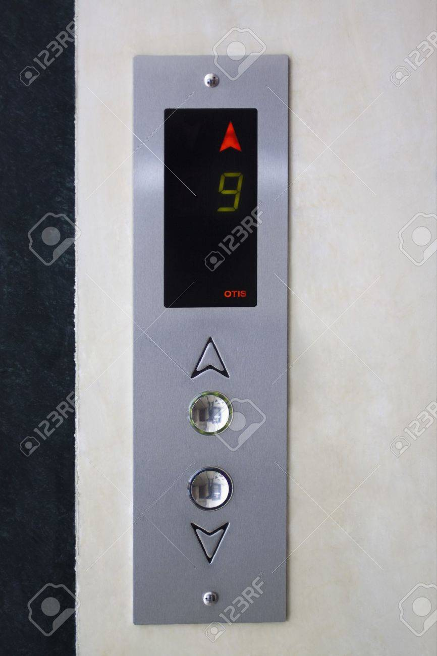 Close-up of the control panel of an elevator Stock Photo - 10237946
