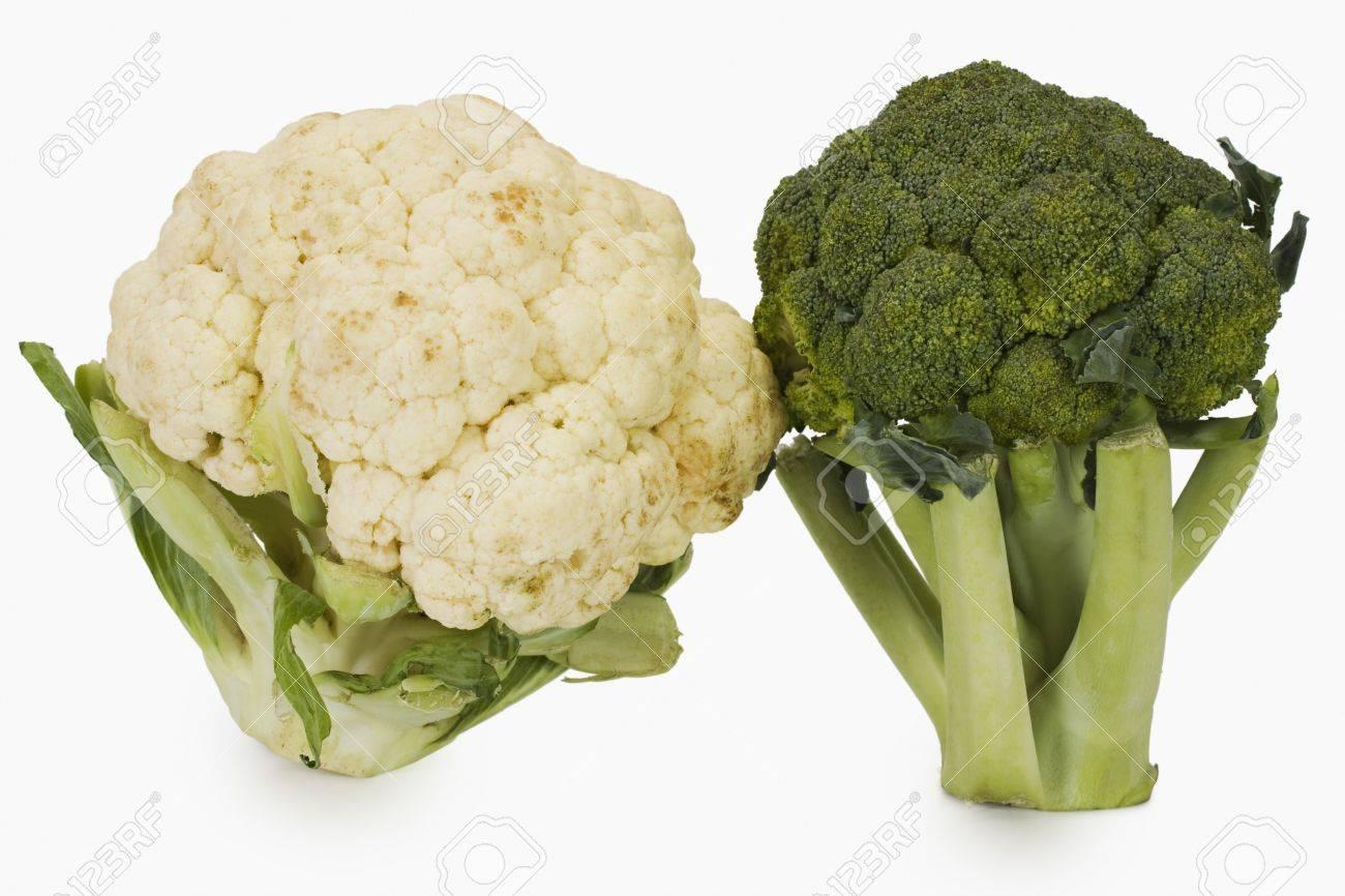 капуста брокколи и цветная разница