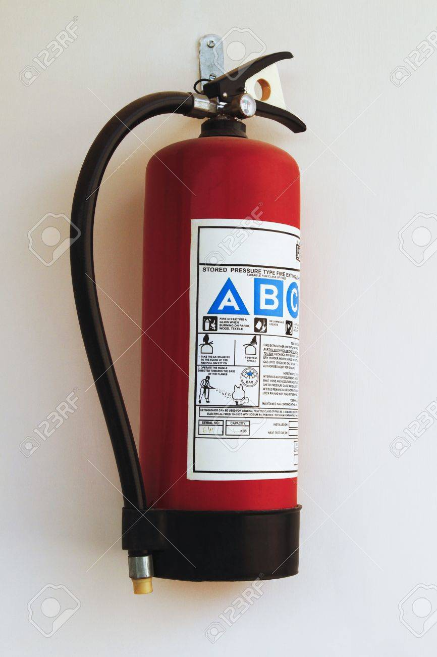 Close-up of a fire extinguisher Stock Photo - 10238613