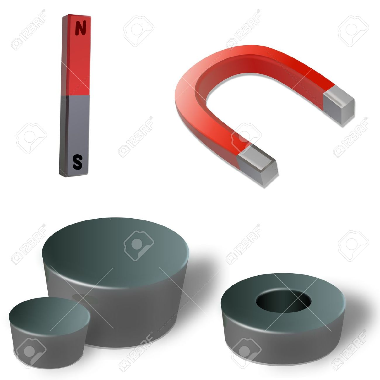 Types Of Magnets >> Different Types Of Magnets