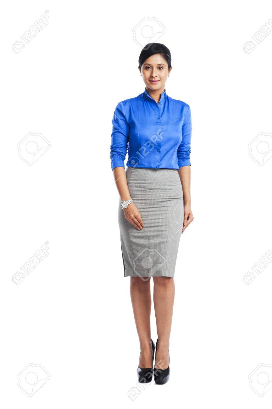 Portrait of a businesswoman smiling Stock Photo - 24632471