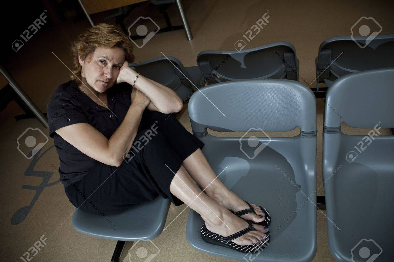 Long wait at the hospital waiting room Stock Photo - 10612039