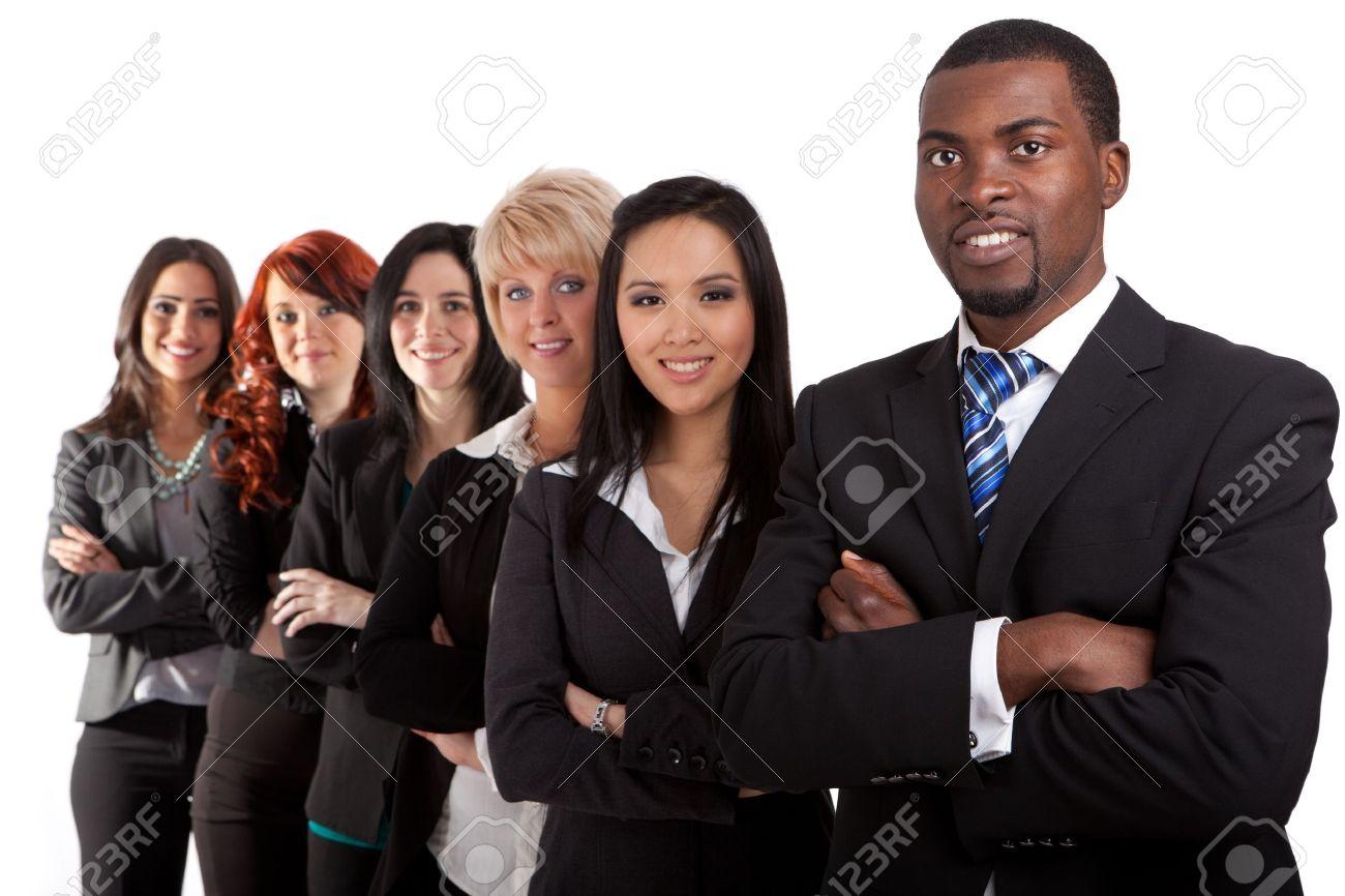 Multi ethnic business team Stock Photo - 11700129