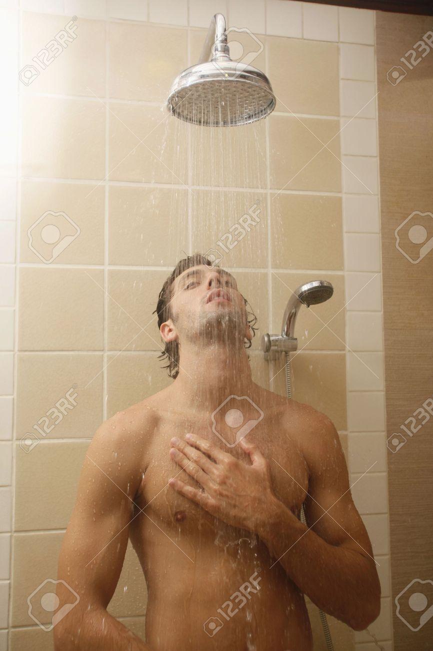 Shower man Nude Photos 7