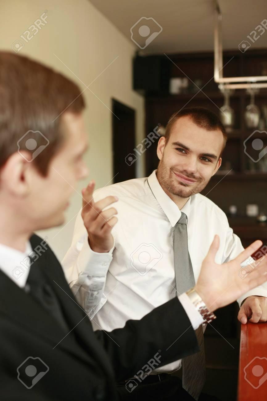 Businessmen having dicussion Stock Photo - 7834940