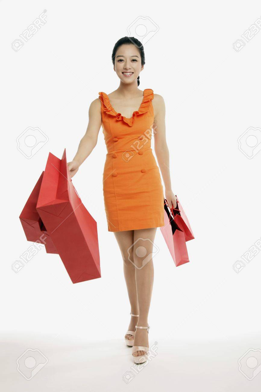Woman with shopping bags Stock Photo - 10861981