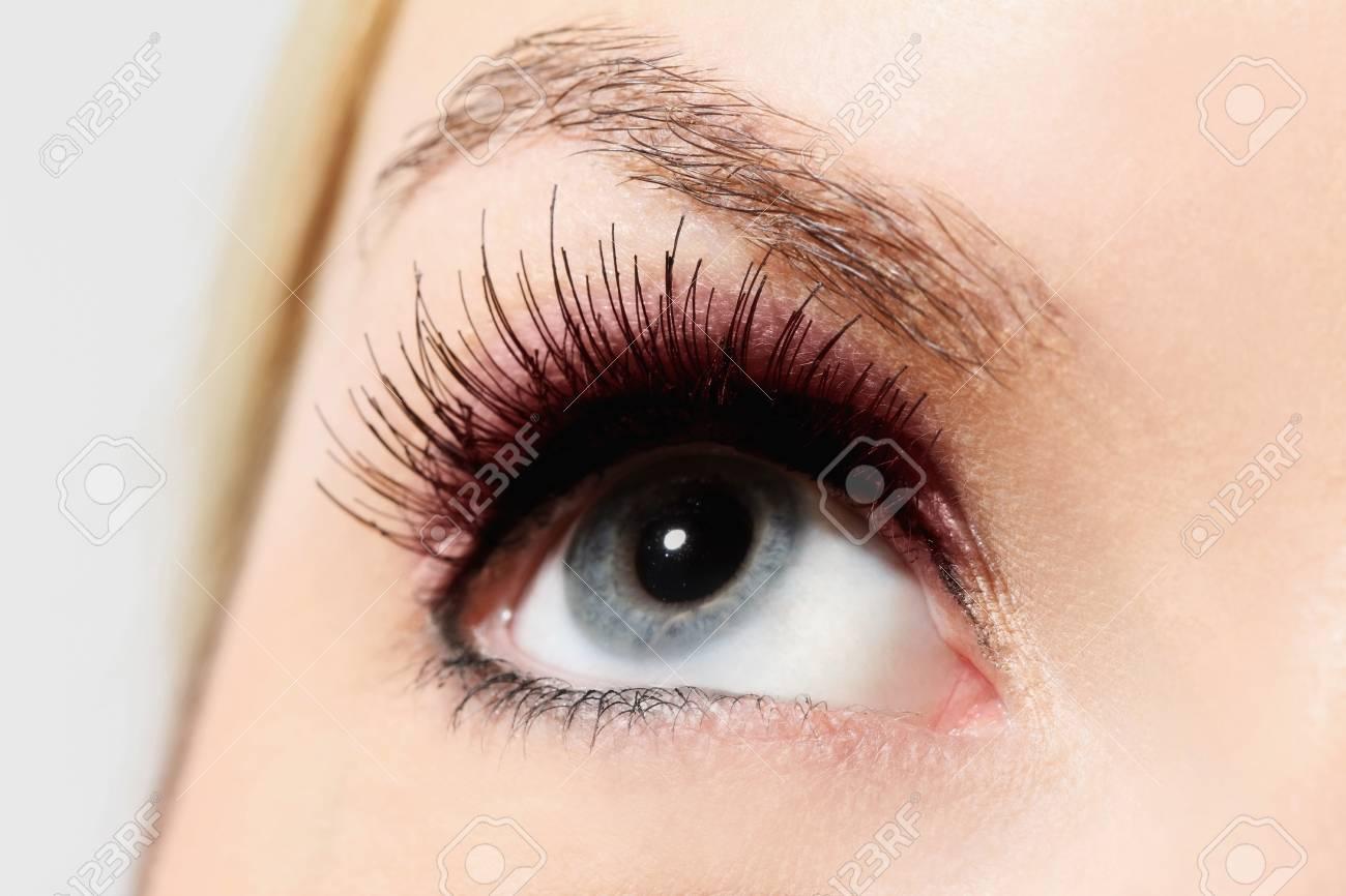 Close-up on woman's eye Stock Photo - 13359856