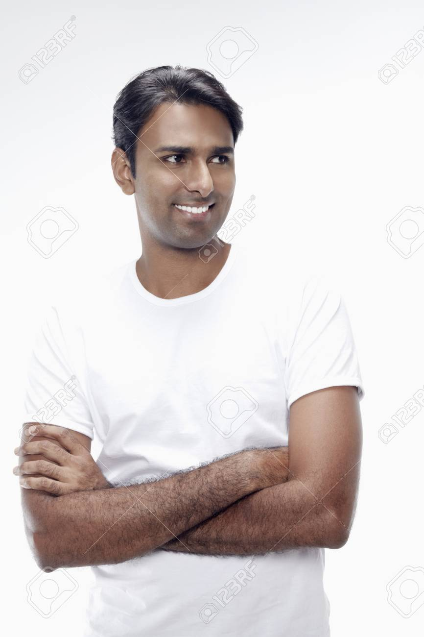 Man smiling with arms crossed Stock Photo - 17912833