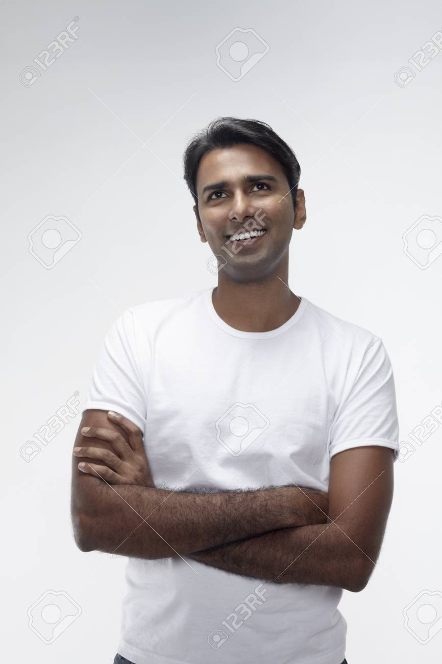 Man smiling with arms crossed Stock Photo - 17912843