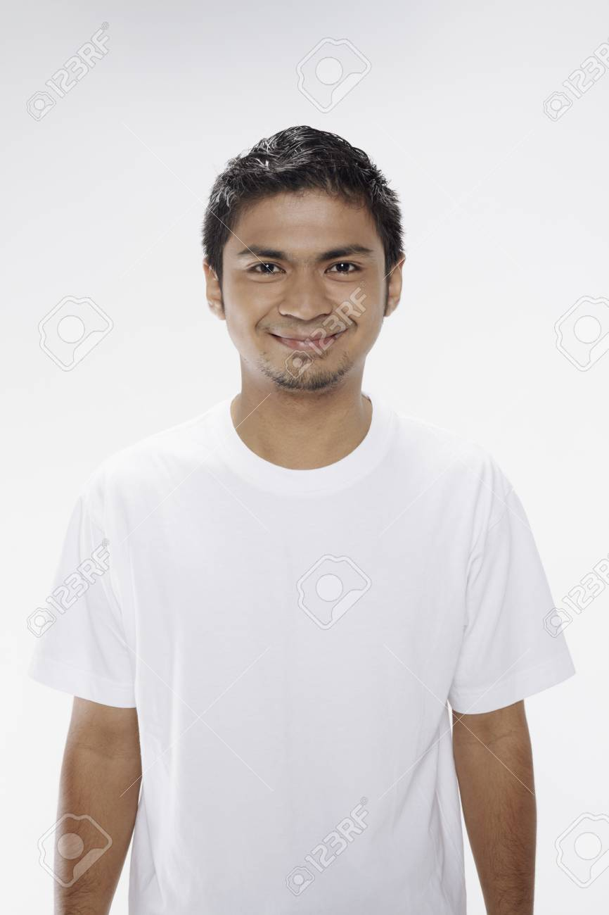 Man smiling at the camera Stock Photo - 17962962