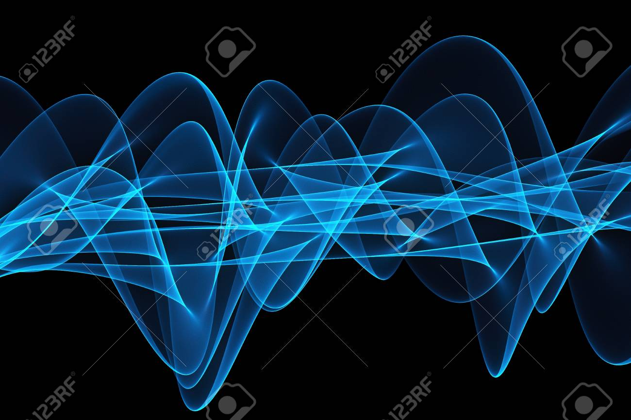 Abstract design with multi-colored lines Stock Photo - 19286013