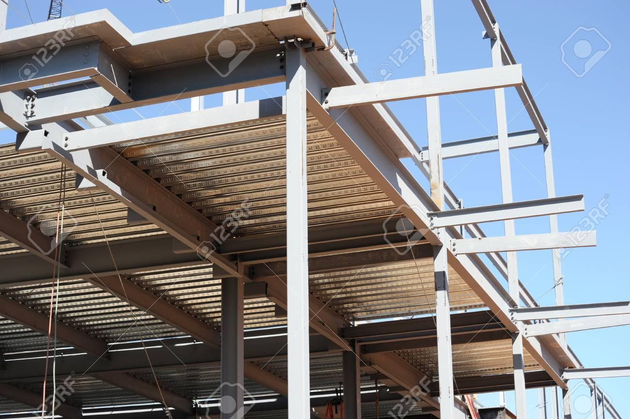 Estructura De Acero Para La Construcción De Edificios Fotos ...