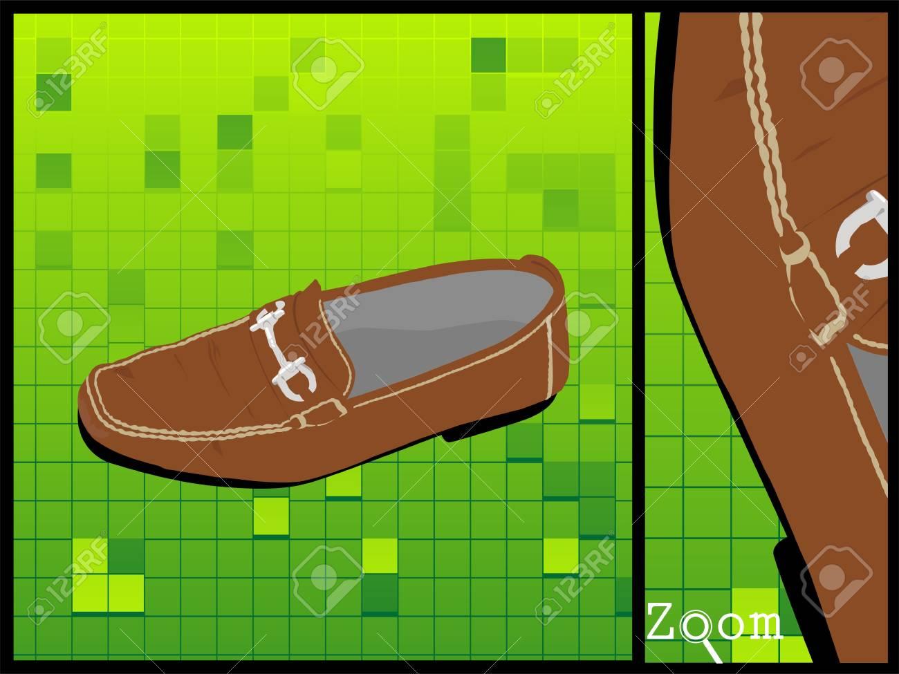 leather shoe on isolated background Stock Photo - 3540409