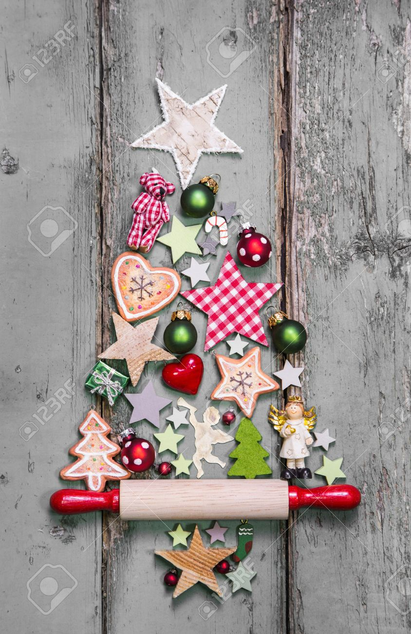 Outstanding Christmas Tree Decoration In Shabby Chic Style An Idea For Interior Design Ideas Gentotryabchikinfo
