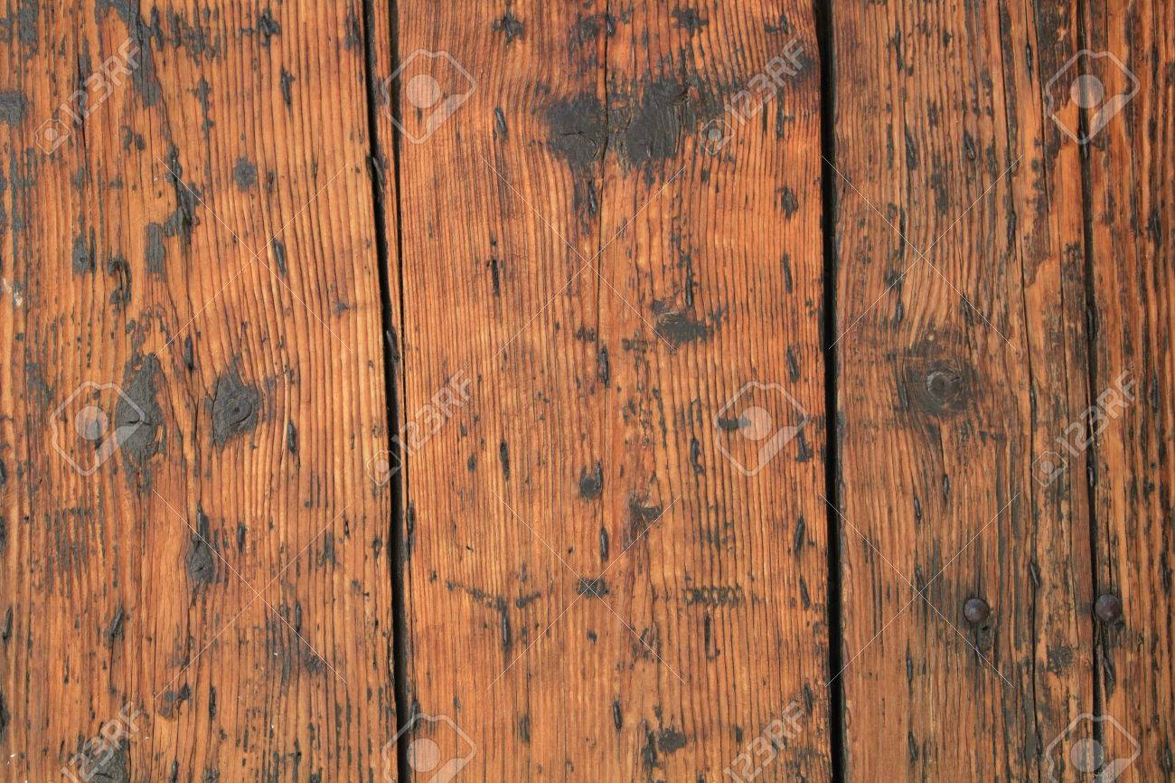 Patterned Old Wood Background In Country Style