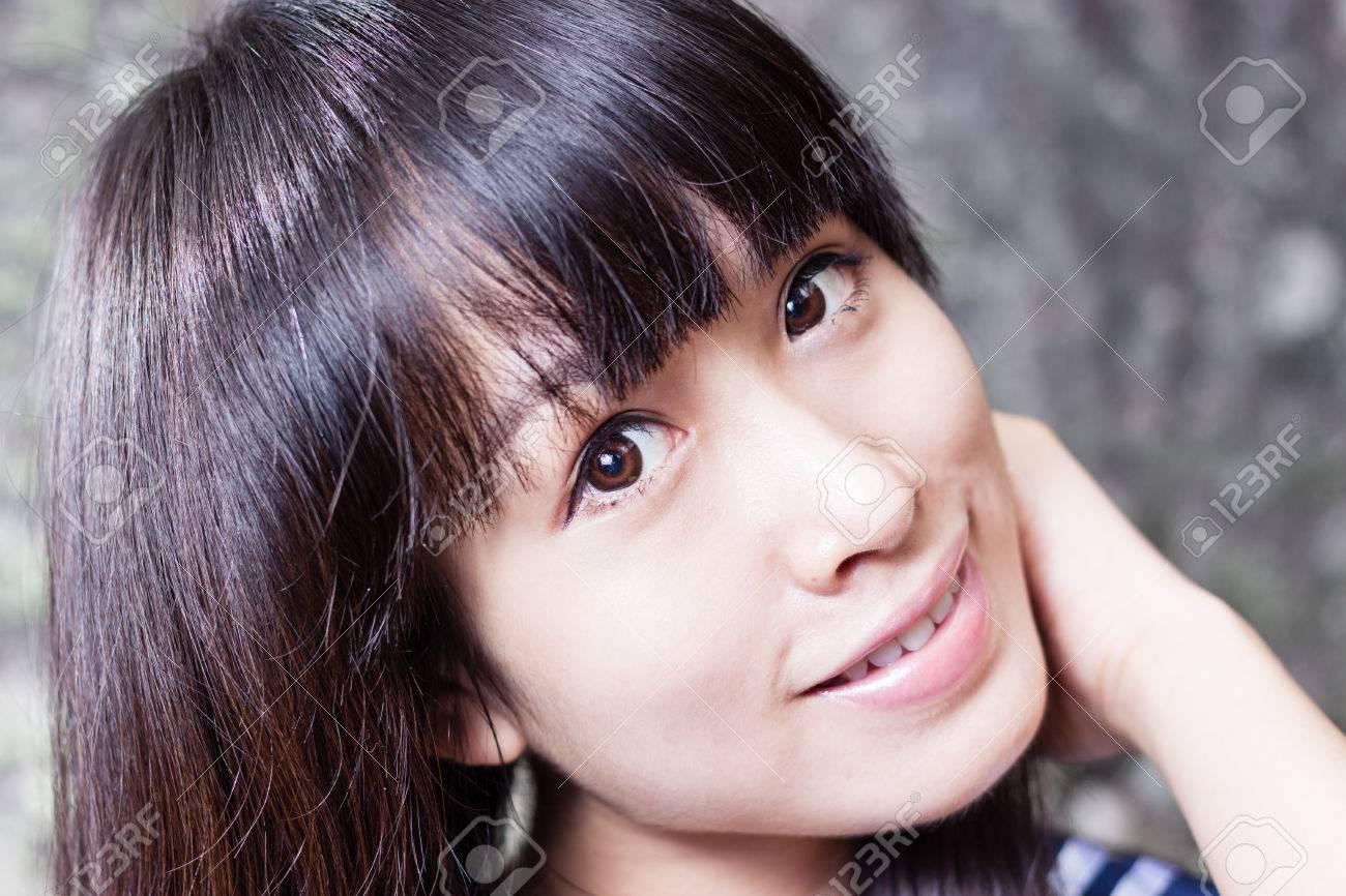 かわいい中国の女の子の肖像画 ロイヤリティーフリーフォト