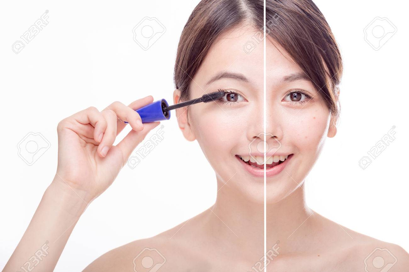 Asian make up application picture 247