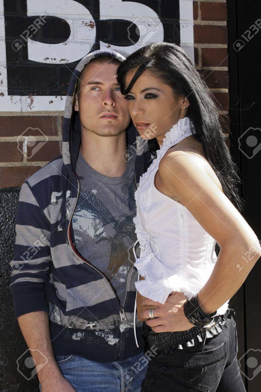 urban couple Stock Photo - 3668817