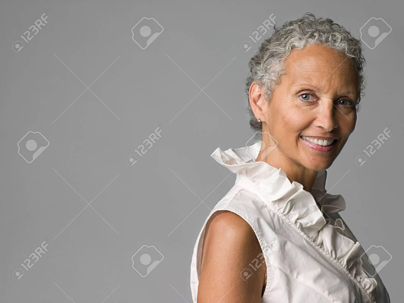 Portrait of a senior woman - 85900130