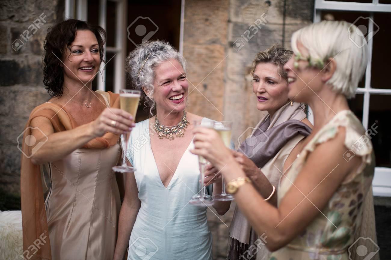 Mature women enjoying women