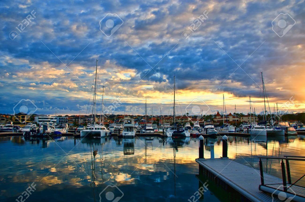 Mindarie Marina Perth Western Australia Stock Photo - 13889434