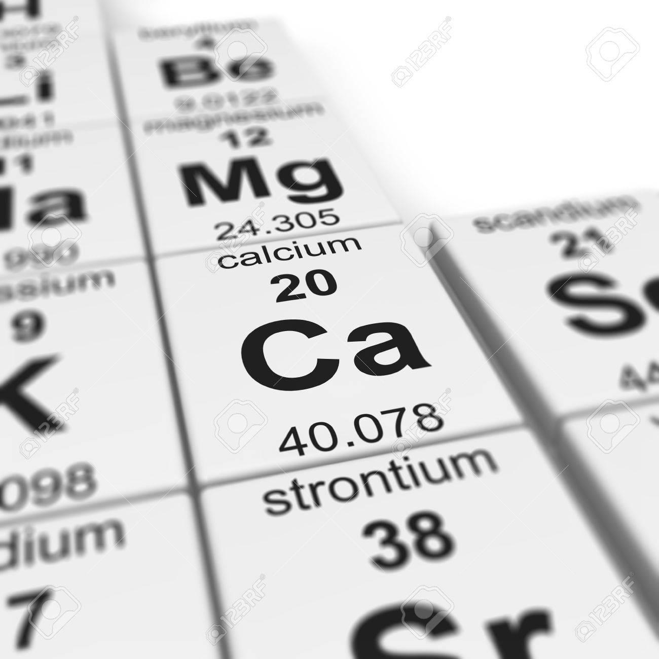 Periodic table of elements focused on calcium stock photo periodic table of elements focused on calcium stock photo 20109188 biocorpaavc