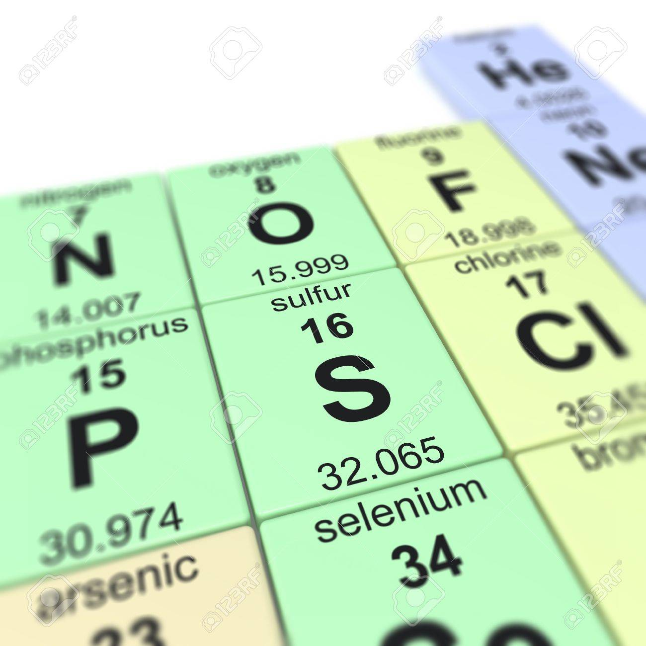 Periodic table of elements focused on sulfur stock photo picture periodic table of elements focused on sulfur stock photo 20109189 gamestrikefo Choice Image