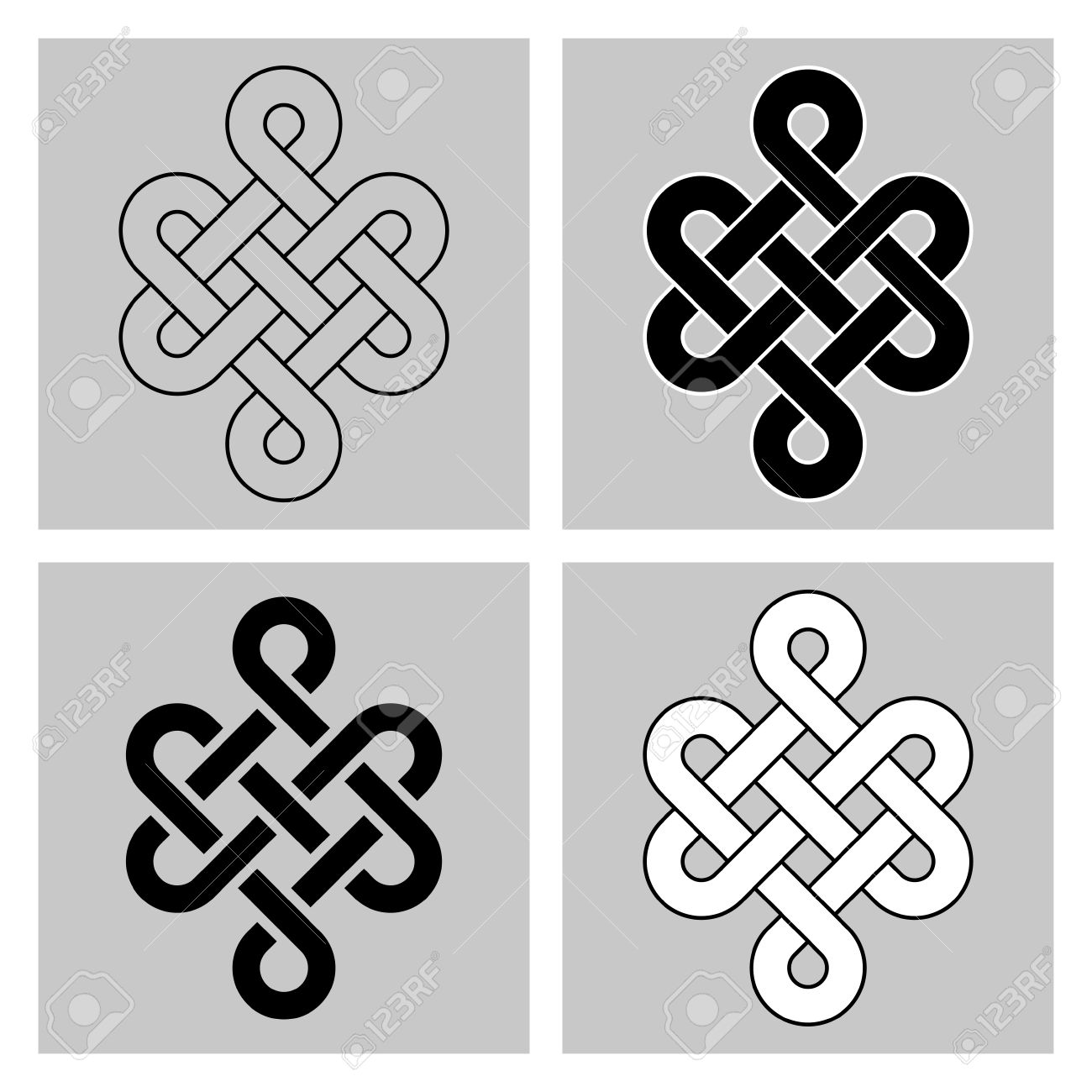 The endless knot sacred symbol of the rebirth in the sacred symbol of the rebirth in the concatenations buddhism separated background biocorpaavc Gallery