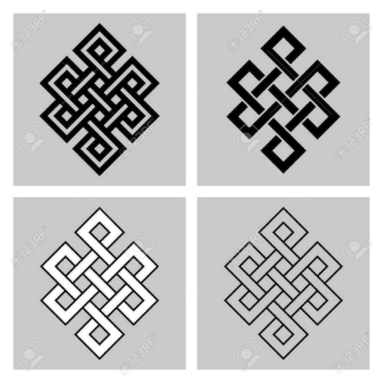 The endless knot sacred symbol of the rebirth in the sacred symbol of the rebirth in the concatenations buddhism stock separated buycottarizona Image collections
