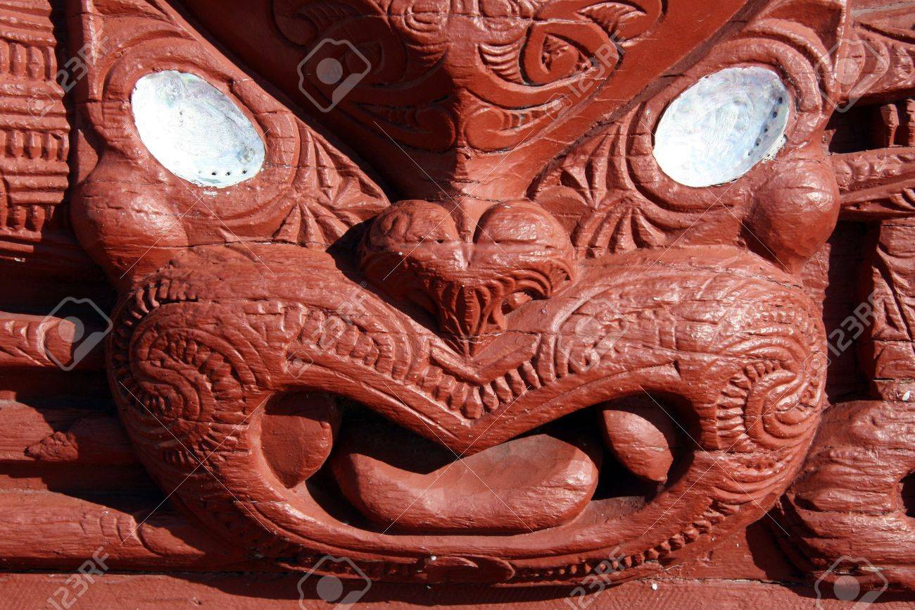photo maori carving maori culture in new zealand