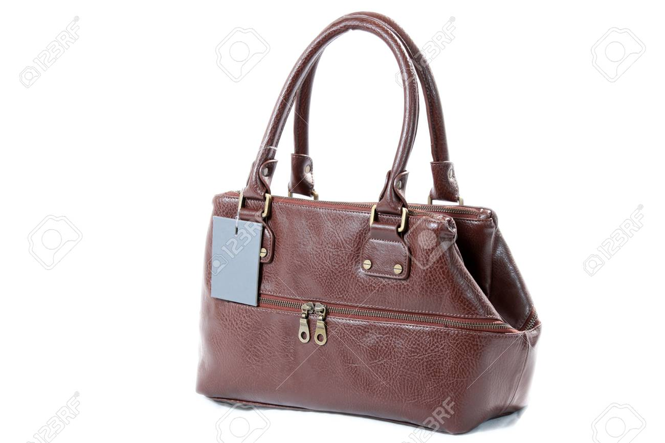 High Class Womens Leather Hand Bag / Purse Stock Photo - 5387925