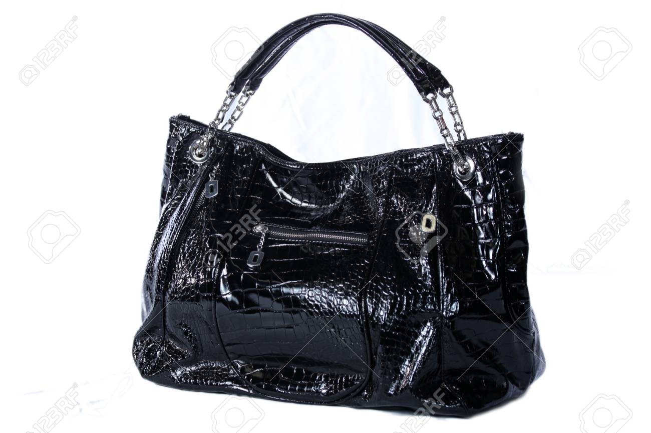 High Class Womens Leather Hand Bag / Purse Stock Photo - 5750609