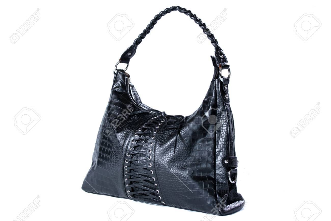 High Class Womens Leather Hand Bag / Purse Stock Photo - 5750610